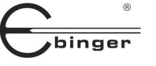 Ebinger kézi fémkeresők