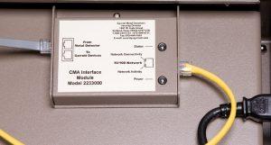 CMA egység, számítógépről való vezérléshez egy távolabbi pontról
