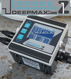 Lorenz Deepmax Z1 mélykereső talajradar, fémdetektor