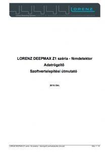 lorenz scripter kezikonyv