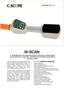 magneteometer adatlap