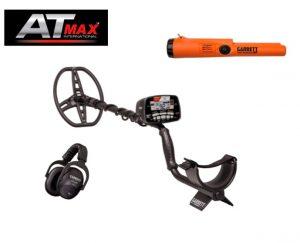Garrett AT MAX wireless fémkereső ajándék Pointerrel