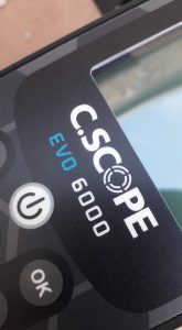 C.Scope EVO6000 fémkereső