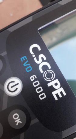 C.Scope EVO6000 fémkereső